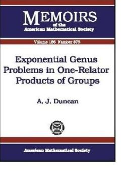 Exponential Genus Problems in One-Relator Products of Groups