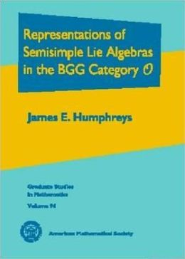 Representations of Semisimple Lie Algebras in the BGG Category O