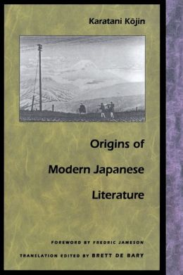 Origins of Modern Japanese Literature