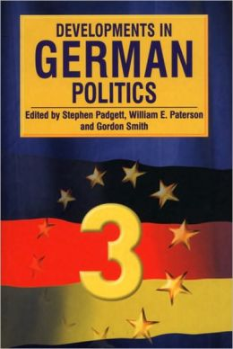Developments in German Politics 3