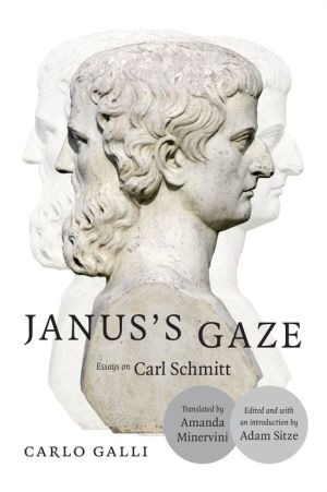 Janus's Gaze: Essays on Carl Schmitt