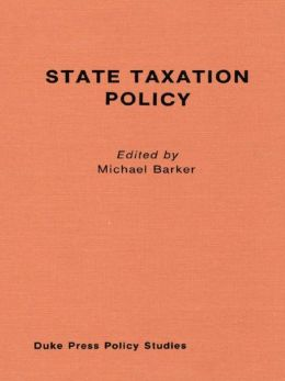 State Taxation Policy and Economic Growth