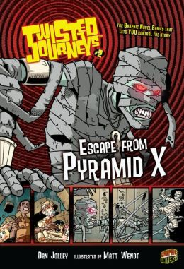 Escape from Pyramid X (Twisted Journeys Series #2)