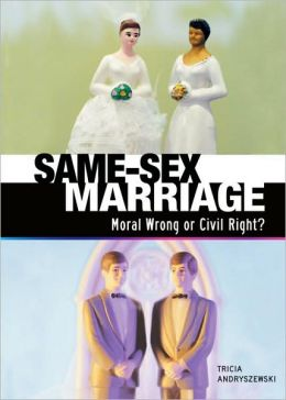 gay marriage moral or immoral While the morality of same sex marriage is contested now, the  marriage is  immoral is sufficient to deny the traditional moral notion of its force.