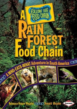 Rain Forest: A Who-Eats-What Adventure in South America