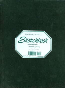 Watson-Guptill Shetchbook: Green
