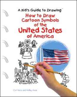 How to Draw Cartoon Symbols of the United States