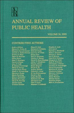 Annual Review Of Public Health 2005