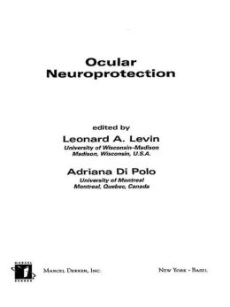Ocular Neuroprotection