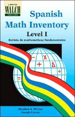 Spanish Math Inventory, Level I