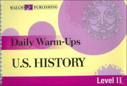 U.S History: Level II (Daily Warm-Ups Series)