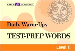 Daily Warm-Ups: Test-Prep Words Level II