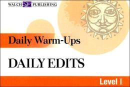 Daily Warm-Ups: Daily Edits Level I