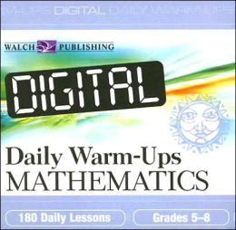 Digital Daily Warm-Ups: Mathematics, 5-8
