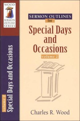 Special Days and Occasions