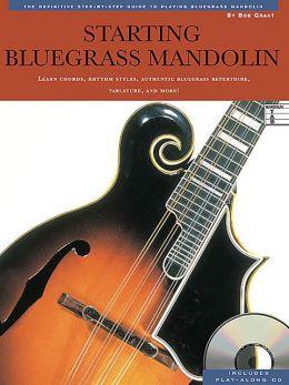 Starting Bluegrass Mandolin