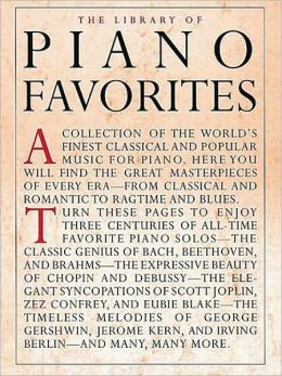 Library of Piano Favorites