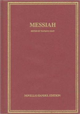 Messiah in Full Score