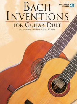 Bach Inventions for Guitar Duet with 2 CDs