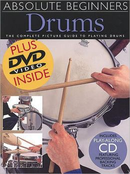 Absolute Beginner's Drums Book/CD/DVD