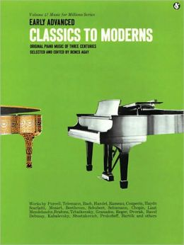 Early Advanced Classics to Moderns