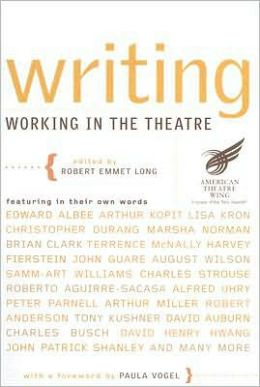 Writing: Working in the Theatre