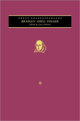 Bradley, Greg, Folger: Great Shakespeareans