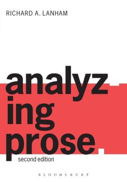 Analyzing Prose: Second Edition