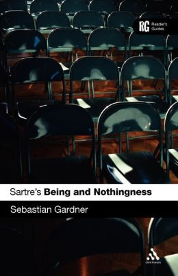 Sartre's 'Being And Nothingness'
