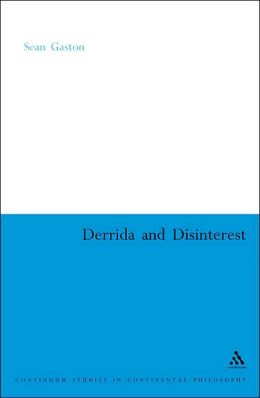 Derrida and Disinterest