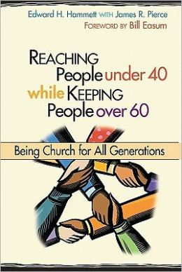 Reaching people under 40 while keeping people over 60: being church for all generations