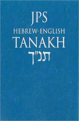 JPS Hebrew-English TANAKH, Pocket Edition (cobalt blue)