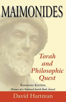 Maimonides Torah And Philosophic Quest