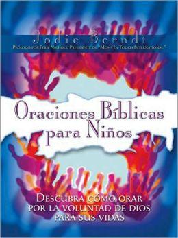 Oraciones bíblicas para ninos