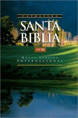 NVI Santa Biblia; ultrafina; rustica