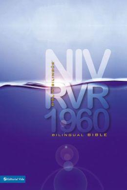 RVR 1960/NIV Biblia bilingue, tamano personal, tapa dura