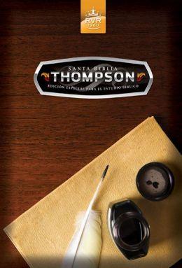 RVR 1960 Santa Biblia Thompson edicion especial para el estudio biblico, tapa dura