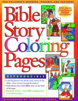 Bible Story Coloring Pages 1 by