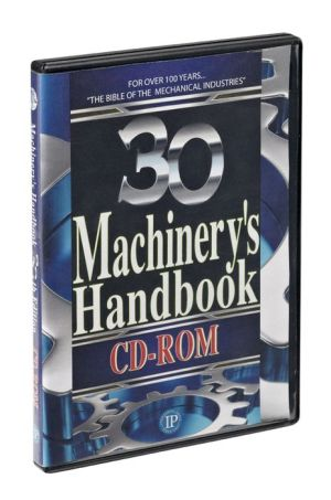 Machinery's Handbook, 30th Edition, CD-ROM Only