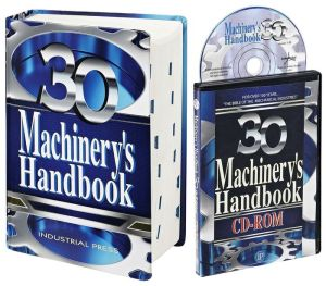 Machinery's Handbook, 30th Edition, Large Print & CD-ROM Combo