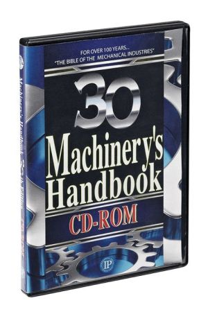 Machinery's Handbook, 30th Edition, CD-ROM Upgrade Only