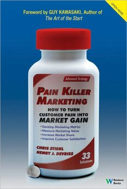 Pain Killer Marketing: How to Turn Customer Pain into Market Gain