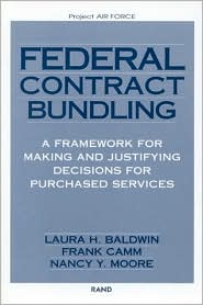 Making and Justifying Bundling Decisions for Air Force Purchasing of Services