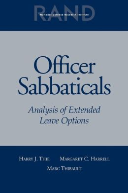 Officer Sabbaticals: Analysis of Extended Leave Options