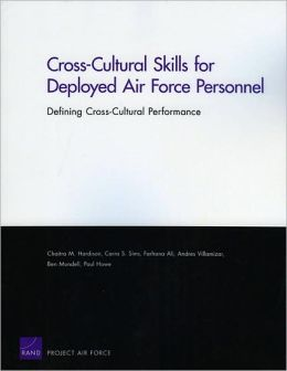 Cross-Cultural Skills for Deployed Air Force Personnel: Defining Cross-Cultural Performance