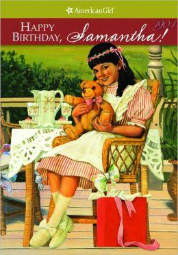Happy Birthday, Samantha