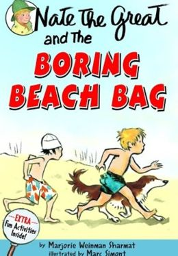 Nate the Great and the Boring Beach Bag (Turtleback School & Library Binding Edition)