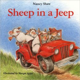 Sheep In A Jeep (Turtleback School & Library Binding Edition)