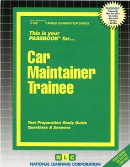 Car Maintainer Trainee