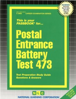 Postal Entrance Battery Test: Test Preparation Study Guide, Questions and Answers